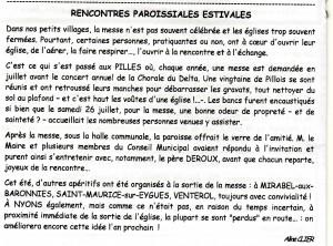 Le Rameau d'Olivier septembre 2014