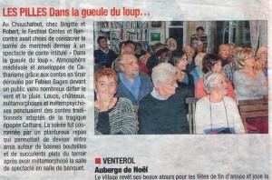 La Tribune du 4 décembre 2014