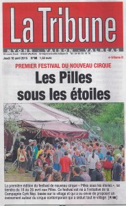 La Tribune du 16 avril 2015