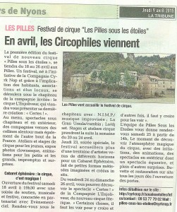 La Tribune du 9 avril 2015