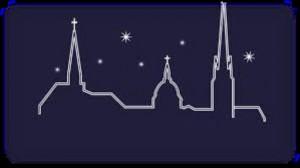 église nuit