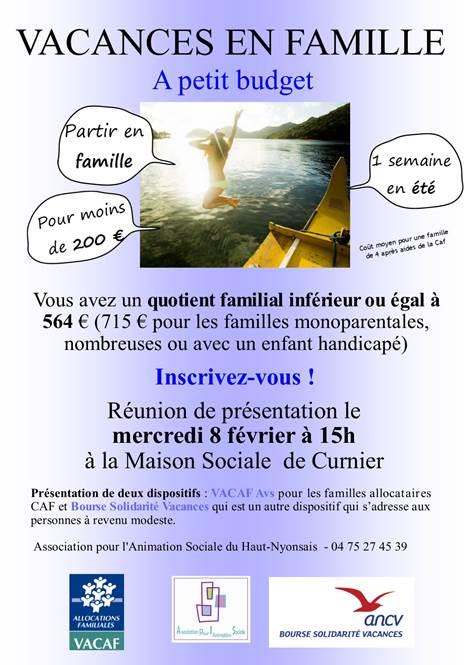 Aides Aux Vacances Reunion D Information Les Pilles